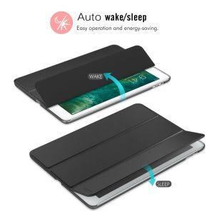 Vire a tampa da caixa de tablet couro PU para iPad 5ª/6ª Geração 9,7 polegada