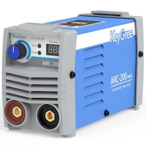 Keygree Hot-Sale ARC-200 Mini Inicio Uso 1pH 220V para la venta DC pequeño portátil inversor IGBT de máquina de soldadura