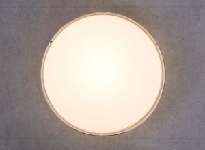 Luz de tecto LED redondos moderno com vidro branco Sombra 8W