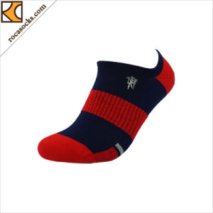 Unisex носки хлопка отрезока низкого уровня света элиты (166009SK)
