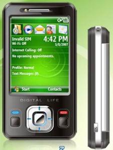 Intelligentes Telefon mit Wifi + freie 512MB TF Karte