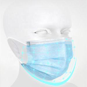 Одноразовые Blue-White Non-Medical защитную маску для лица с комфорт и безопасность