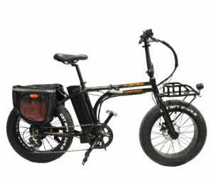 """Nouveau châssis pliable Arrivelled 10Ah lithium vélo électrique avec 20 """" roues en alliage en aluminium avec Fat pneu (MZ-060)"""