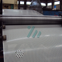 0.5mm Hole Diameter Perforated Sheet Metal Mesh