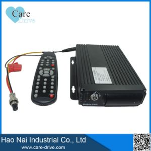 Gps-Verfolger mit Karten-Fuhrpark-Management-System bewegliches DVR/Mdvr Ableiter-3G mit der 4 Kanal-Kamera
