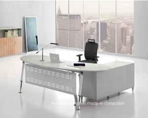 Le métal de la jambe du bureau exécutif moderne en bois meubles de