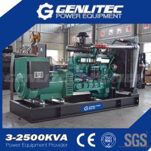 Aprire il tipo generatore del diesel di potere di 150kw 187kVA Yuchai