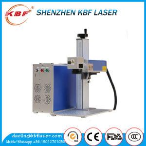 einfache 30W tragen Faser-Laserengraver-Maschine auf SS