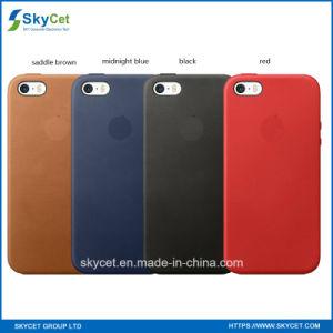 Caja móvil del cuero del teléfono celular para la caja del SE del iPhone