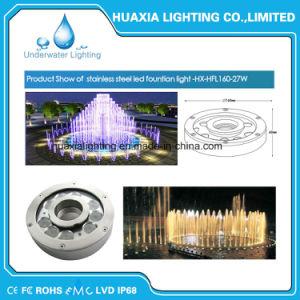 27watt IP68 impermeabilizzano gli indicatori luminosi subacquei del raggruppamento della fontana LED