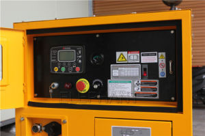 132 kVA Sdec espera gerador diesel equipado com janelas insonorizadas Grupo Gerador