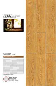 Tegel van de Vloer van het Porselein van Inkjet de Plattelander Verglaasde met Houten Ontwerp 150X800mm