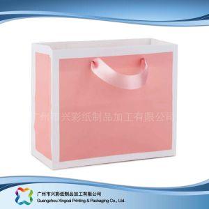 Le papier imprimé à l'Emballage Sac pour le shopping// cadeau des vêtements (XC-bgg-040)