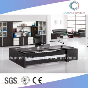 La conception de projet Bureau exécutif Table Office mobilier de bureau avec pieds métalliques (AR-D051212)