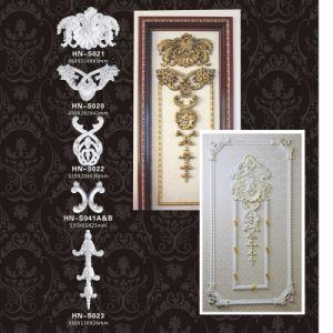 ポリウレタン上張りの壁の彫刻の装飾PUはアップリケHnS020を飾る