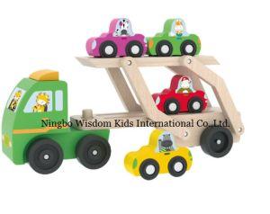 Enfants Les Bois Et Camion Jouets Pour En Transporteur Voiture I9E2HD