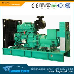 De elektrische Diesel die van de Generatie van de Motor van Cummins van de Generator Vastgestelde ElektroMacht produceren