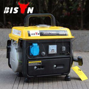 バイソン(中国)のAir-Cooled単一フェーズ600Wガソリン発電機950 DC携帯用ガソリン発電機12V