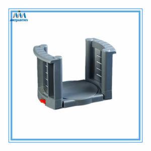 El titular de la placa de cocina extensible Estante Para Platos de Material ABS