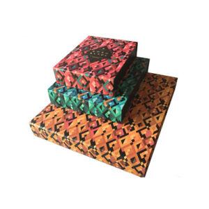 Custom роскошь картон шоколад Подарочная упаковка