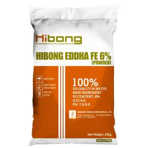 Fe 6, EDDHA het Poeder van Vigohibong van Fe 6%