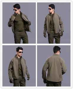 8-Colors напольная куртка офицера армии командира Softshell Водоустойчив Windproof Пальто
