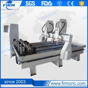 Macchina per incidere di legno del router professionale di CNC per il cilindro