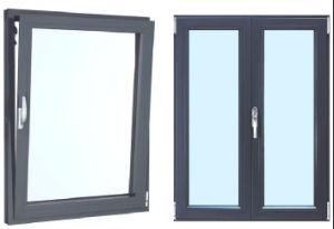 이중 유리로 끼워진 차일 여닫이 창 알루미늄 Windows