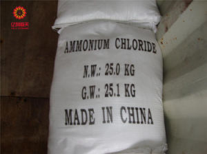 Het Chloride van het Ammonium van de Rang van de industrie met Anticaking Agent