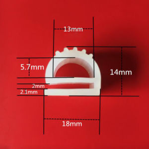 Form-Ofen-Profildichtung-Gummistreifen-Dichtung des Silikon-Strangpresßling-E