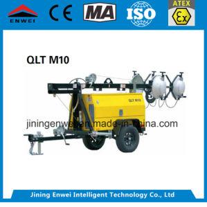 Qlt M10 Móvil vehículo Diesel montado en Torre de Luz