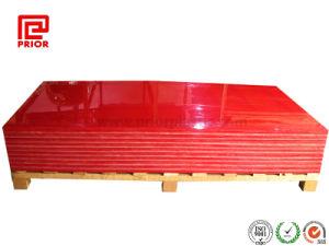 スムーズな表面が付いている赤い高密度PEシート