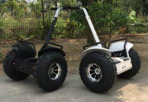 電気オートバイの自己のバランスのオフロードスクーターの速度の温度電池の表示
