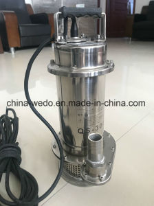 Qdxs3-20-0.55 Pomp de met duikvermogen van het Water voor Irrigatie