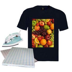 100%년 면 t-셔츠/의복 의류 인쇄를 위한 어두운 A3/A4 크기 t-셔츠 열전달 종이