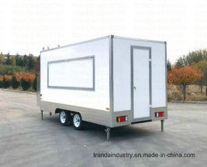 La Cina, spuntino, BBQ, ciambella, vendita, cabina, rimorchio mobile degli alimenti
