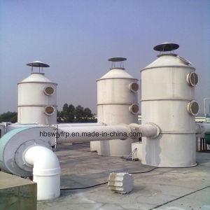 Toren van de Gaszuiveraar FRP van de Ontzwaveling van het Dioxyde van de Zwavel van Fgd de Natte