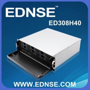ED308h40 Short Depth 400mm 8 Bay Hot Swap 3u Server Case