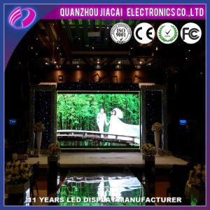 P4 de alta tecnologia LED para interior de substituição tela em movimento