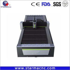 Jinan CNC Máquina de corte láser de metal con generador Raycus IPG