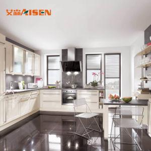 Het beste verkoopt de Moderne Keukenkasten van de Lak van Hoomes van de Container van het Ontwerp