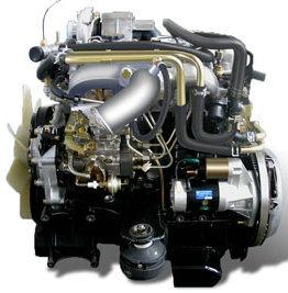 真新しい水Isuzu冷却のディーゼル機関4jb1 (4jb1t)
