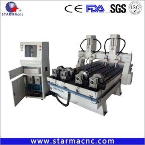 450b grote Motor 4 CNC van de As de Machine van de Gravure met Roterende As