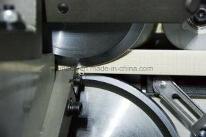 木工業機械平らな捨てることを用いる木製機械端のバンディング機械