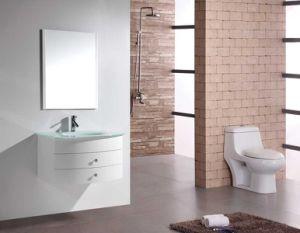 MDF moderna en la pared Muebles de baño con espejo
