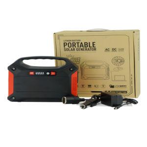 Портативный генератор от розетки электросети и автомобильное зарядное устройство/Солнечная панель