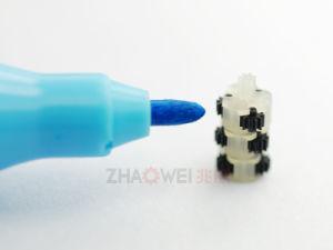 비율 136:1 6mm 플라스틱 흡진기 변속기