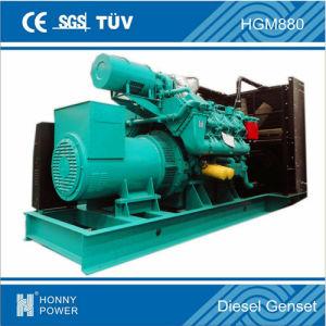 800kVA stille Diesel Googol Generator 640 KW