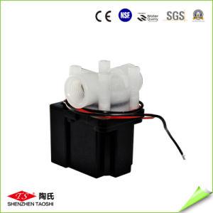 La electroválvula de Mini azul de la válvula de agua para el dispensador de agua