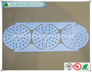 2 Layer Branco PCB FR4 para a placa de LED